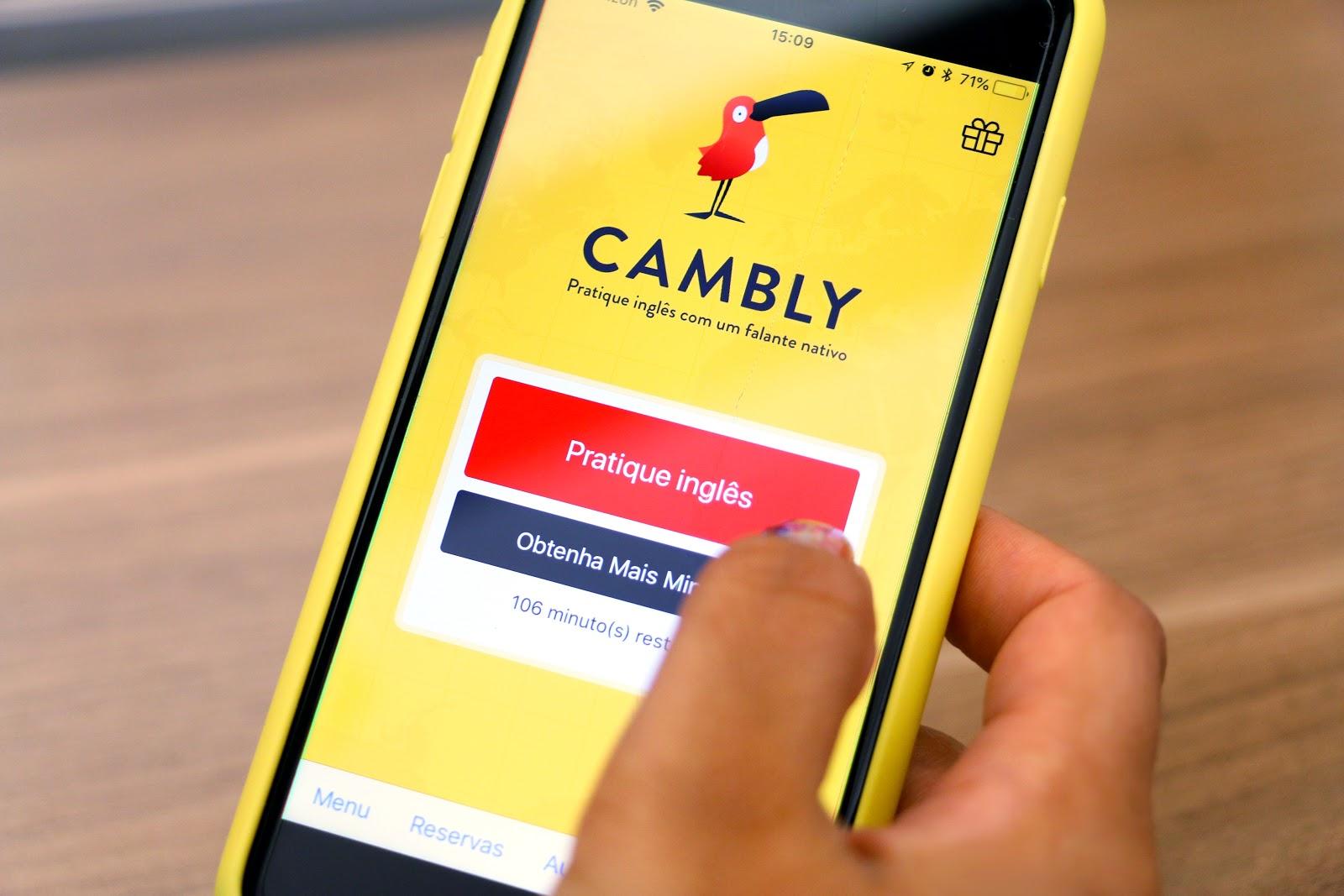 Cambly: aplicativo para aprender inglês com conversação ao vivo