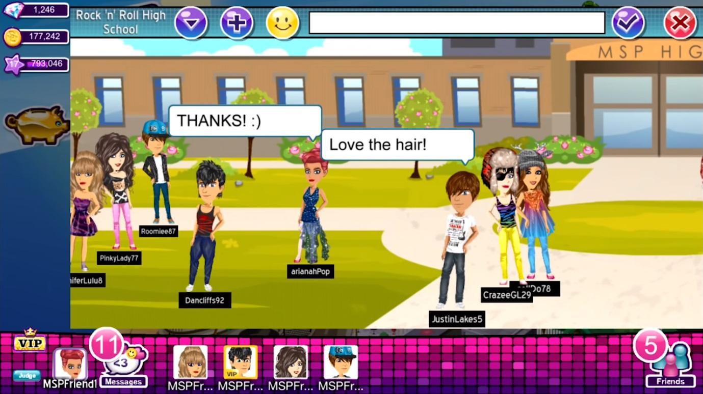 Virtual World Games