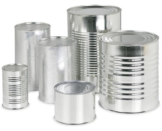 Types of Cans for Food Packaging