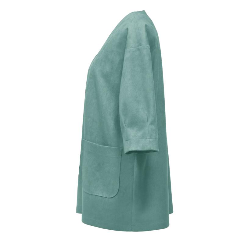 کت زنانه درس ایگو کد 1080006 رنگ آبی
