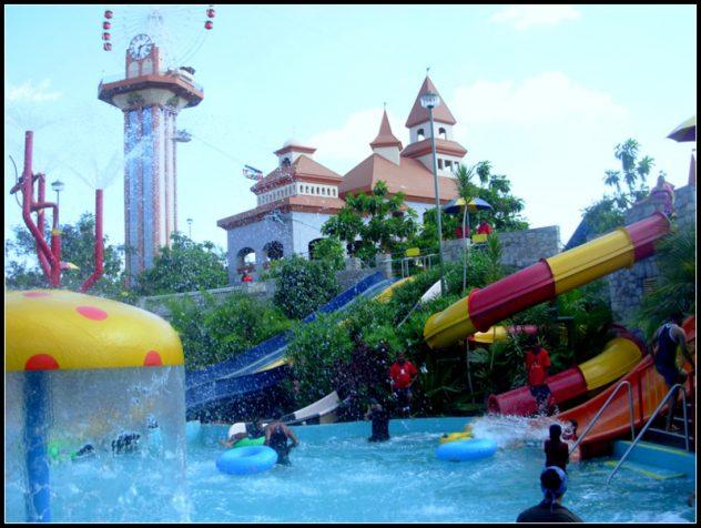 Wonderla Water Park in Kochi Kerala