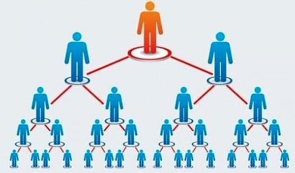 Đa cấp Forex, mô hình ponzi