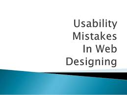 Usability Mistakes | Liainfraservices
