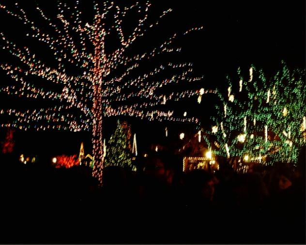 Holiday Season Lights Up at Peddler's Village.