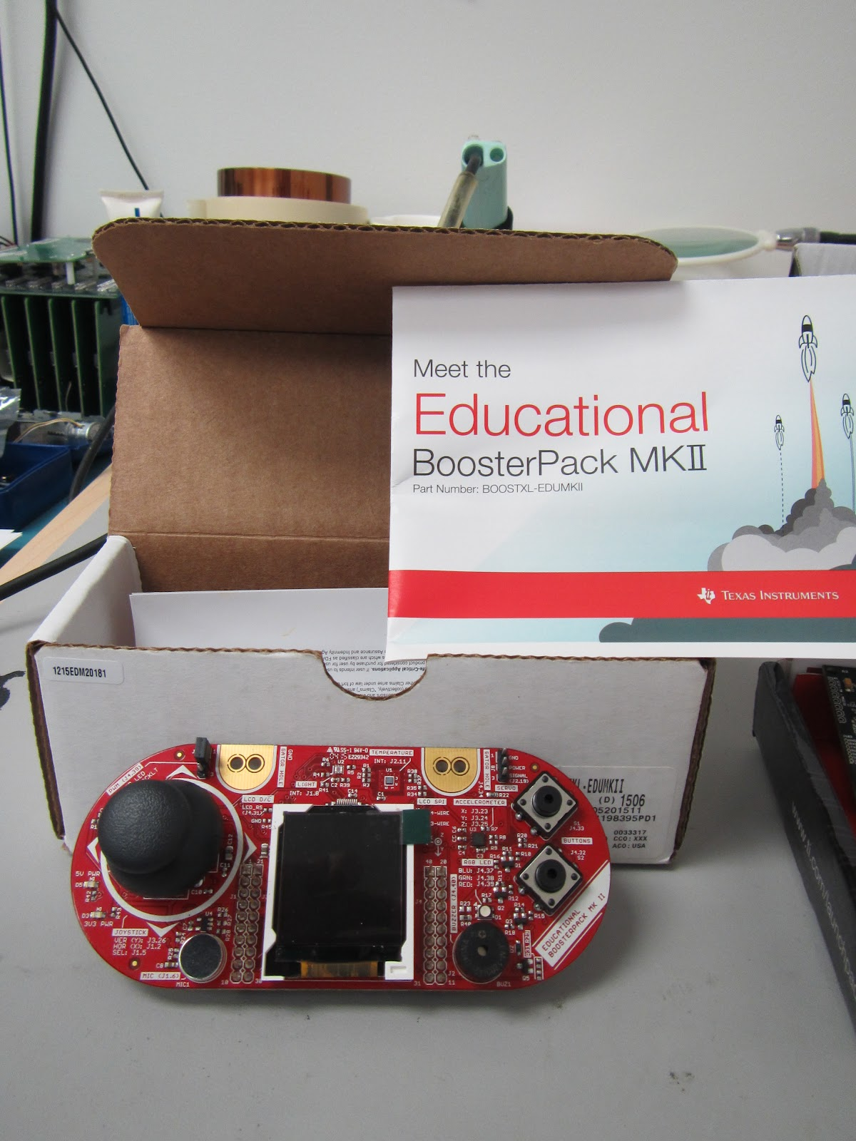 Texas Instruments Educational Boosterpack II -     | element14