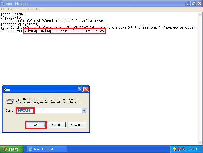 Windbg Windows Xp