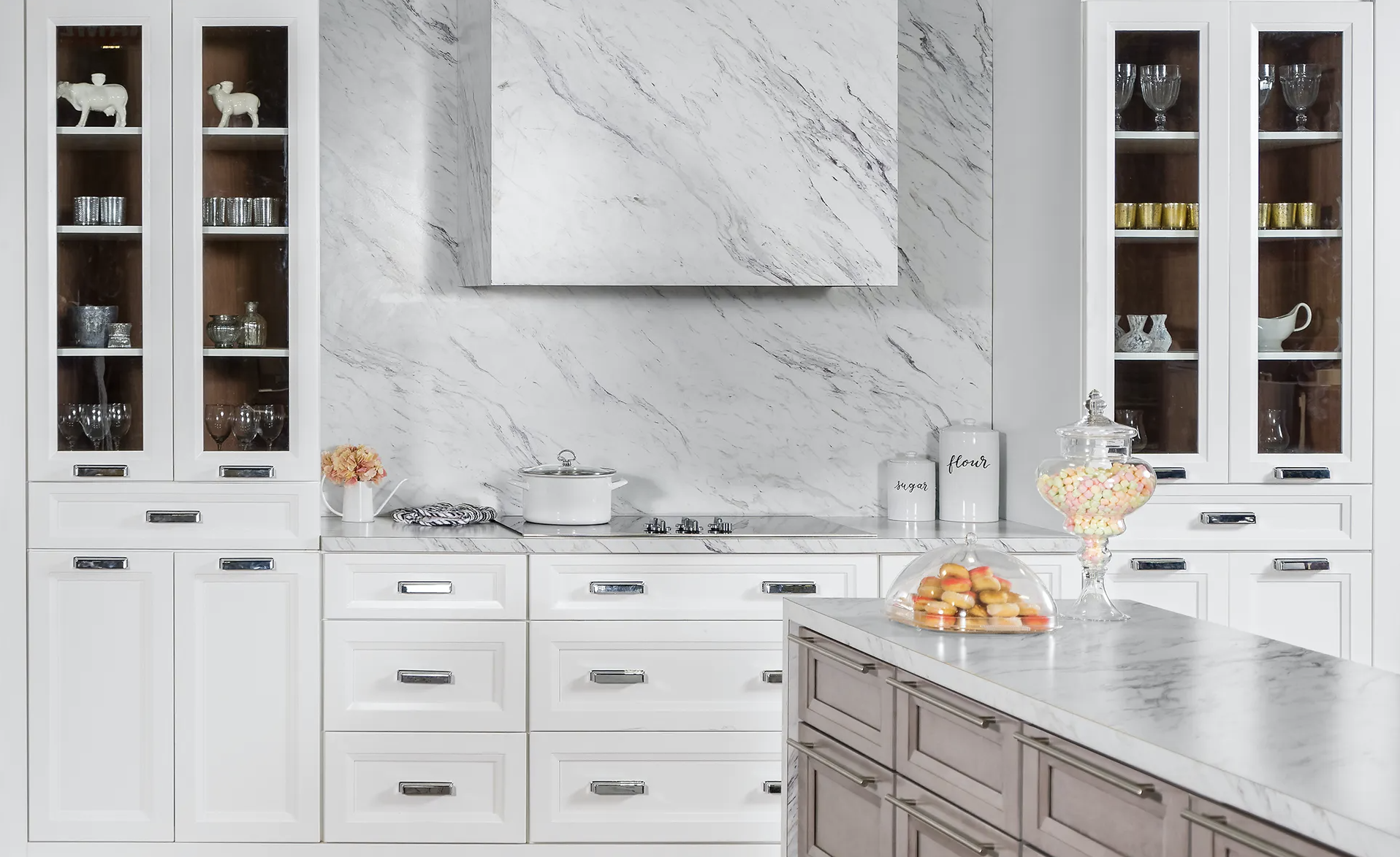 Fabuwood Cabinetry for kitchen redesign, Johnson Lumber, Maryland Kitchen Design