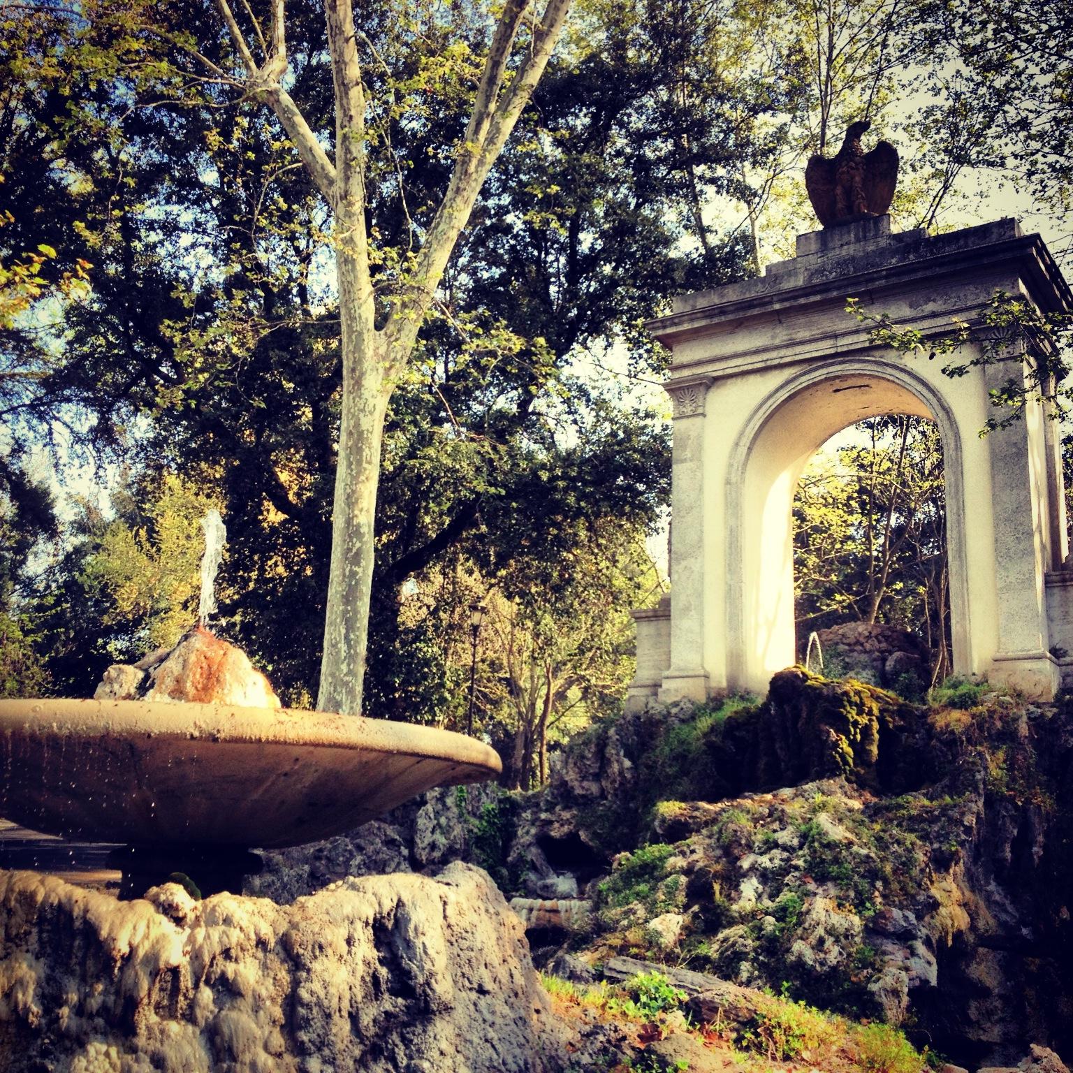 Villa Borghese - Fountains of Rome