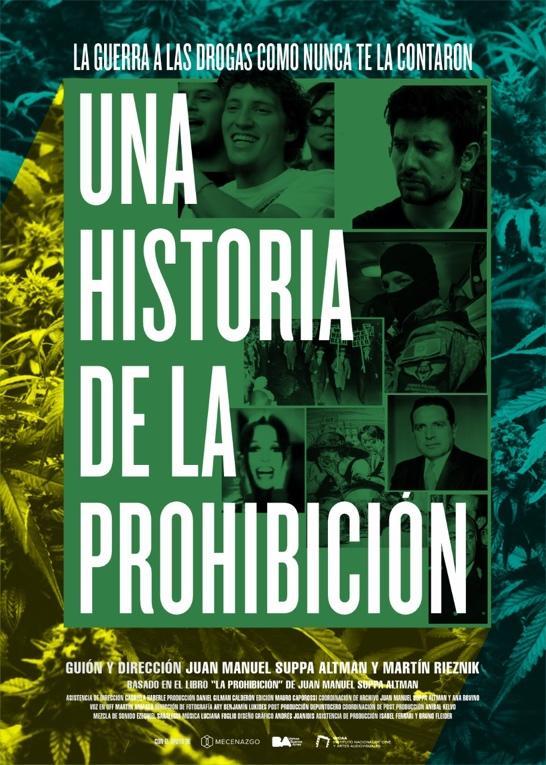 Una Historia de la prohibición De Martín Rieznick y Suppa Altman