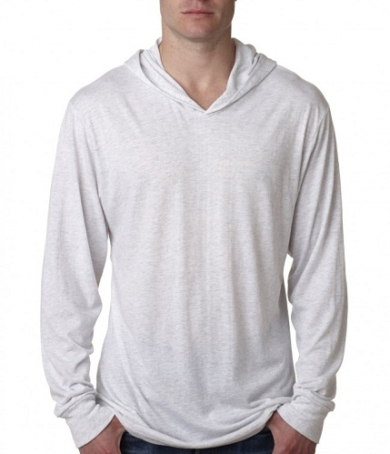 Plain Men's Sweatshirt with Hoodie
