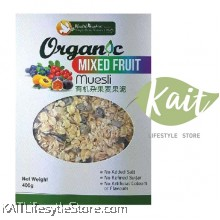 HEALTH PARADISE Organic Mixed Fruit Muesli (400gm)