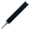 6.ตะไบปลายมีด จะใช้ในงานตะไบร่องงานที่มีขนาดแคบๆ ลักษณะตะไบจะคล้ายกับปลายมีด