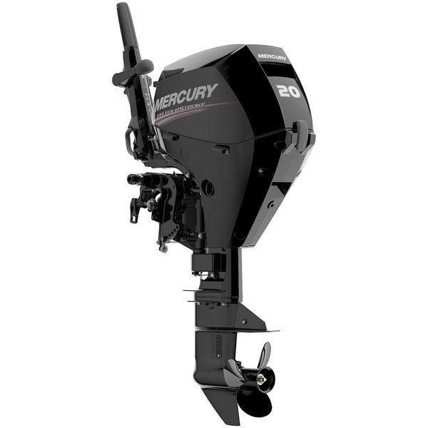 "20hp Electric Start 4-Stroke Outboard, 20"" Shaft Length"