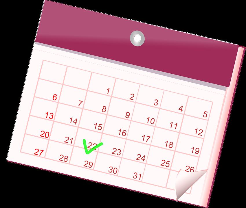 Calendar, Month, Year, Date, ...
