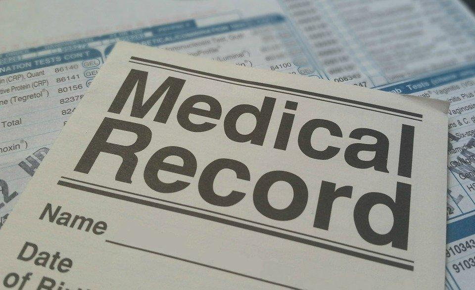 Medical, Record, Health, Patient, Form, File, Document