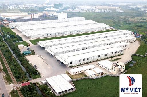 Nhà máy sản xuất bình nóng lạnh Olympic hiện đại của Mỹ Việt