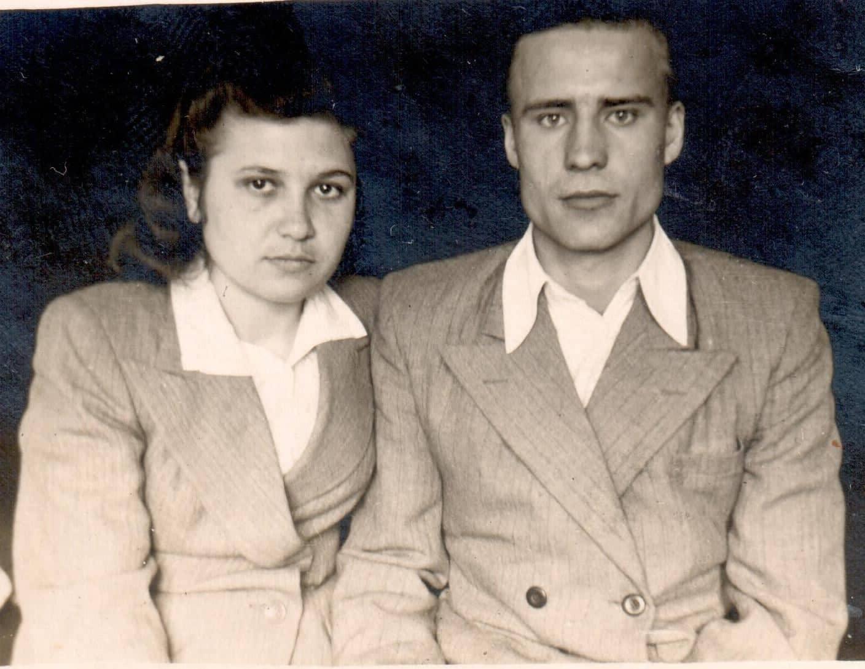 Фотография 1951 г. из семейного архива Харитоновых