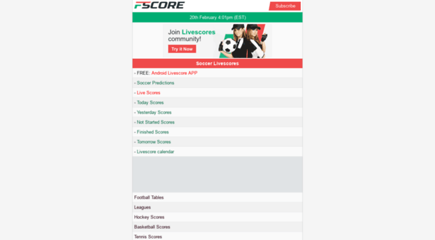 Livescore Yesterday Results Of Cyber Sports Matches