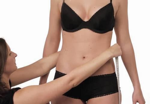 ladies body measurement