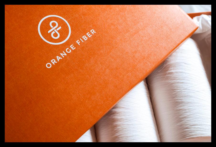Tessuto sostenibile Orange Fiber