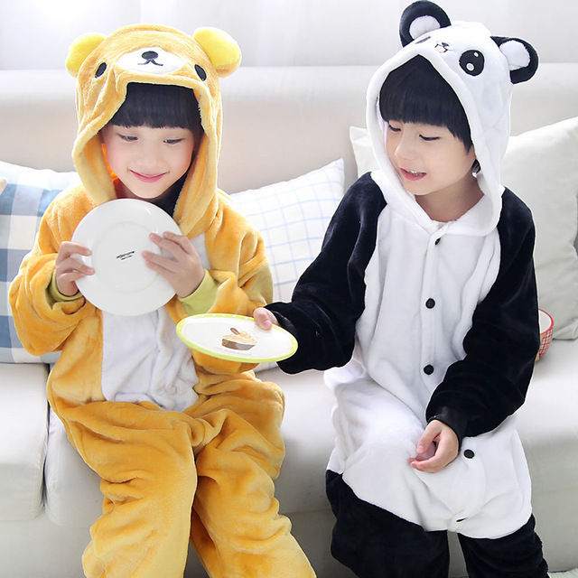 Kombinezon panda dla dziecka