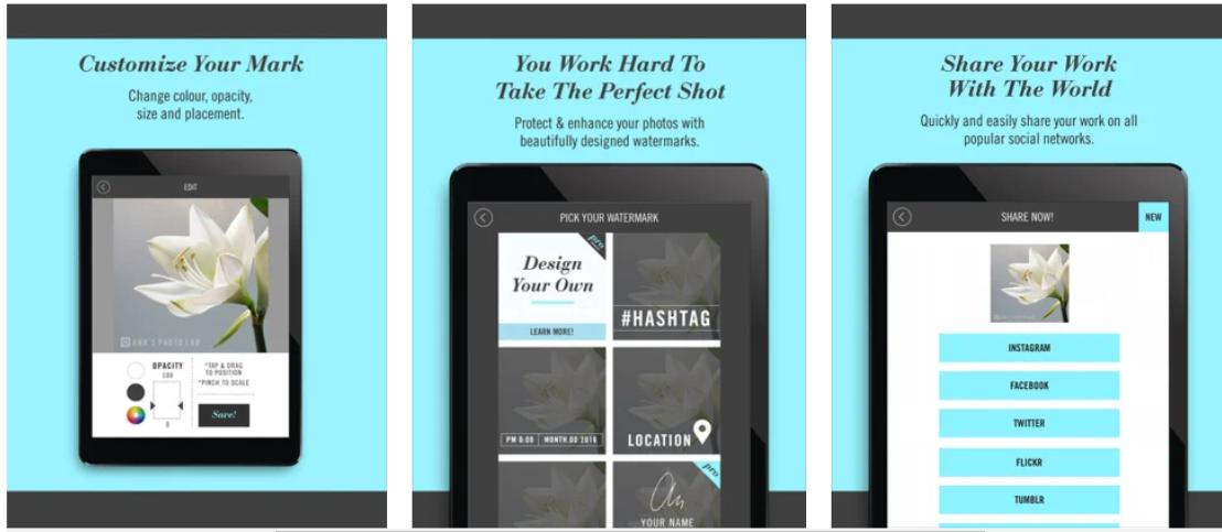 3 Top Watermark Apps