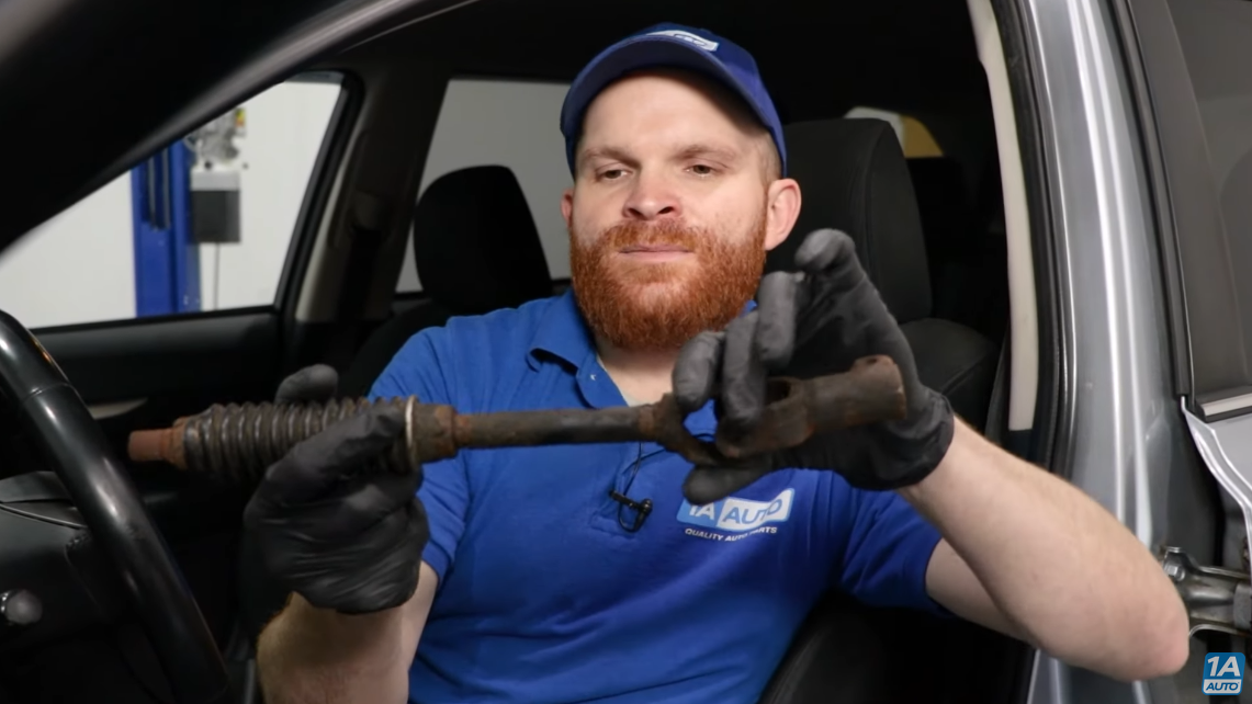 Steering column shaft