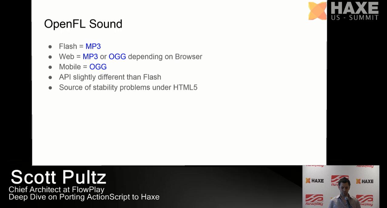 OpenFL Sound