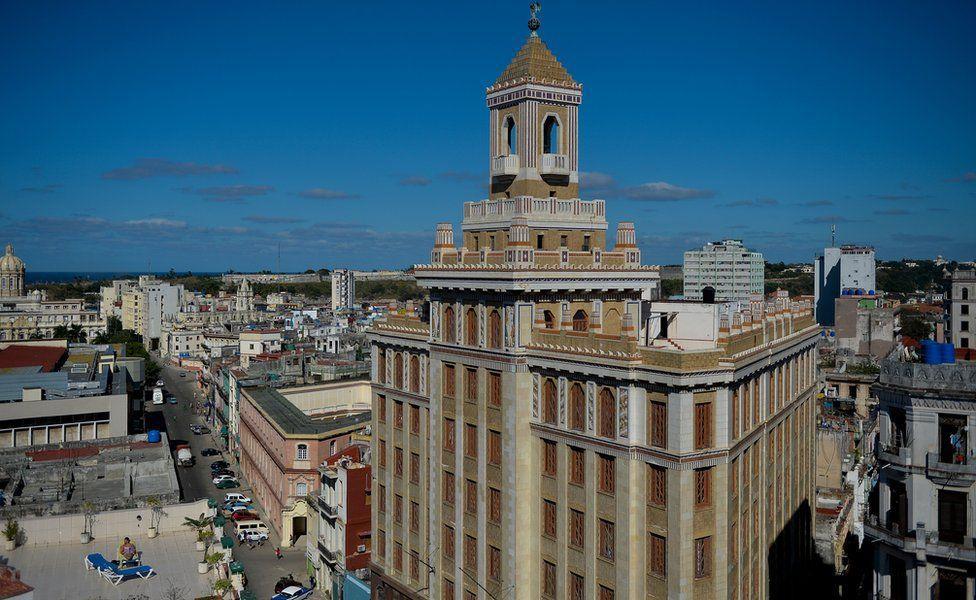 哈瓦那百加得大樓,2019年2月
