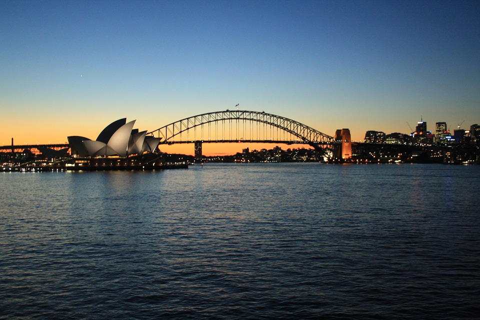 Sydney, Opera House, Urban, Bridge, Harbor