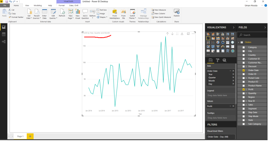 Forecast in Power BI 29