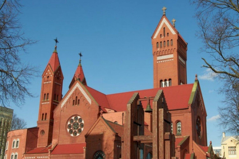 Червоний костел в Мінську - фото 56988