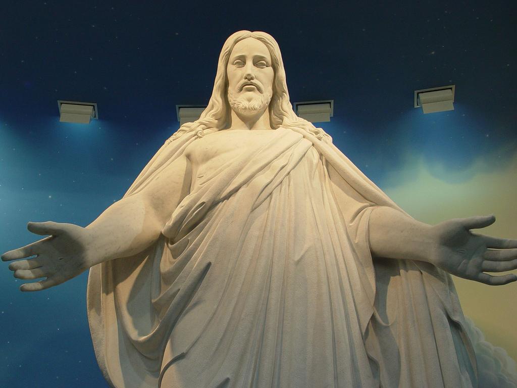 Jesus Christ - Christus Statue   For more information visit:…   Flickr