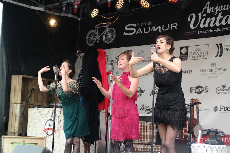 Anjou vélo festival au mois de juin à Saumur