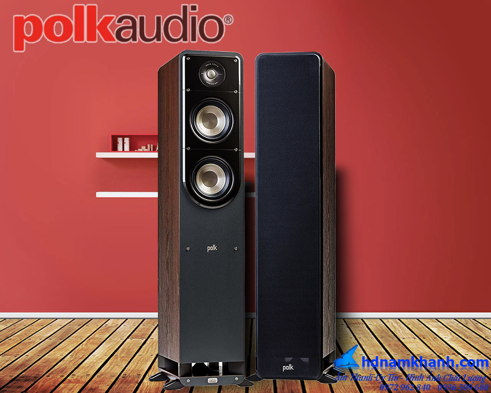 Loa Nghe Nhạc Polkaudio: S50,S60, Âm thanh vòm độc đáo, thiết kế sang trọng