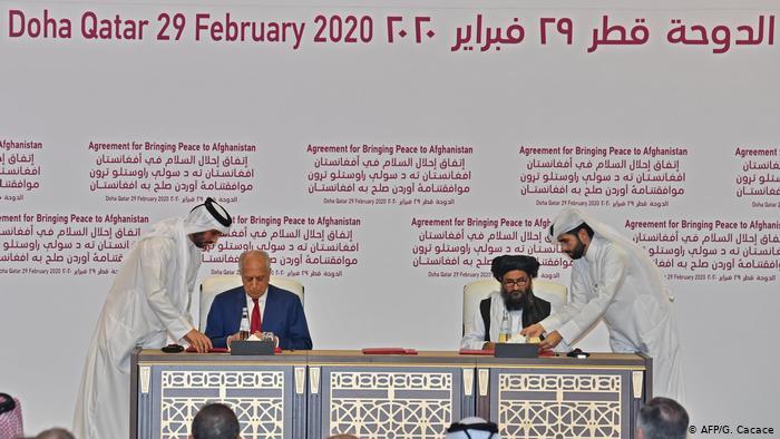 Acuerdo de paz entre Estados Unidos y los Talibán