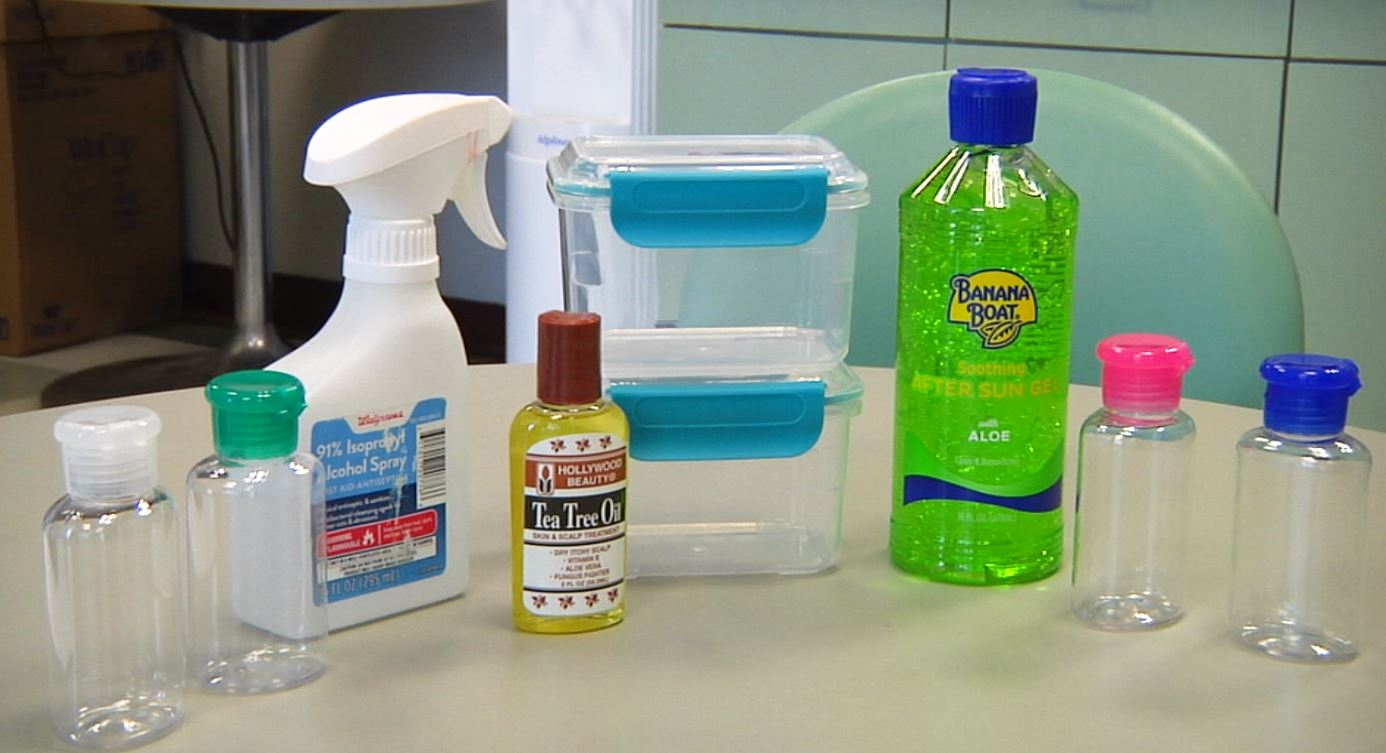 Image result for homemade hand sanitizer