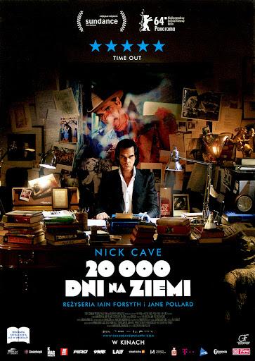 Przód ulotki filmu '20 000 Dni Na Ziemi'