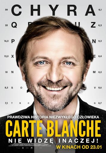 Polski plakat filmu 'Carte Blanche'