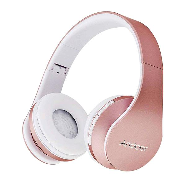 ANDOER Multifunctional Noise Cancelling Wireless Headphone