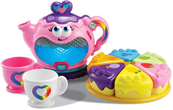 13. LeapFrog Musical Rainbow Tea Set