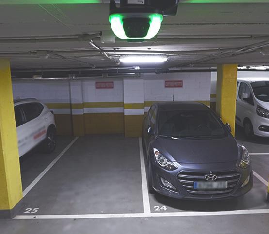 Picture of a parking sensor SC Indoor