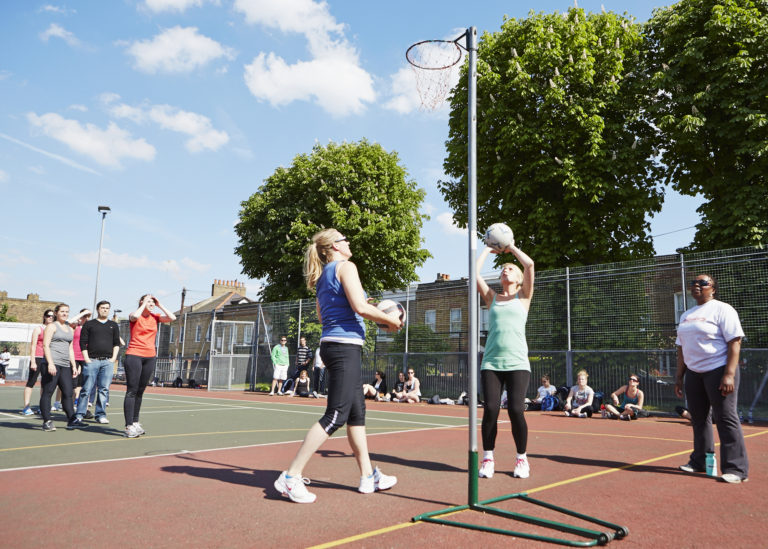 NetBusters | GoSweat | Where to play Netball in Balham?