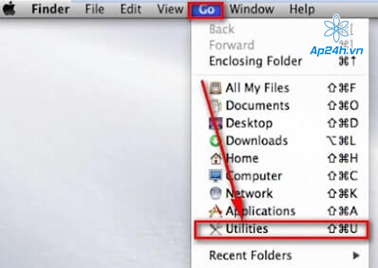 Format USB trên MacBook