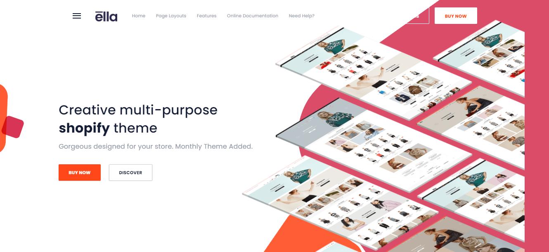 Ella - Shopify bootstrap theme