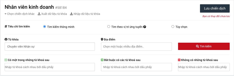 TopCV cập nhật tính năng mới trên công cụ Tìm kiếm CV ứng viên: Tuyển dụng trúng đích trong tầm tay!
