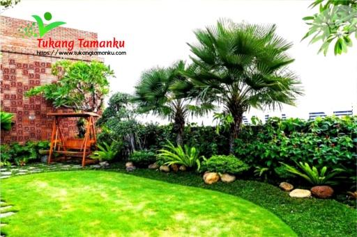 jasa pembuatan taman tropis