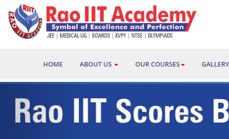 RAO IIT Admission