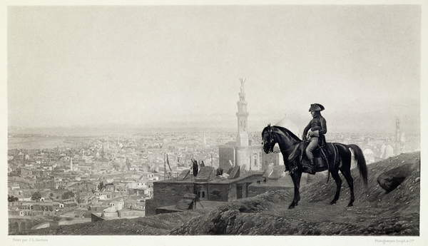Image of General Bonaparte at Cairo, from 'A Collection of Works of Jean-Leon Gerome in 100 Photogravures', 1881 (photogravure), Gerome, Jean Leon (1824-1904) (after) / French, © Dahesh Museum of Art, New York / Bridgeman Images
