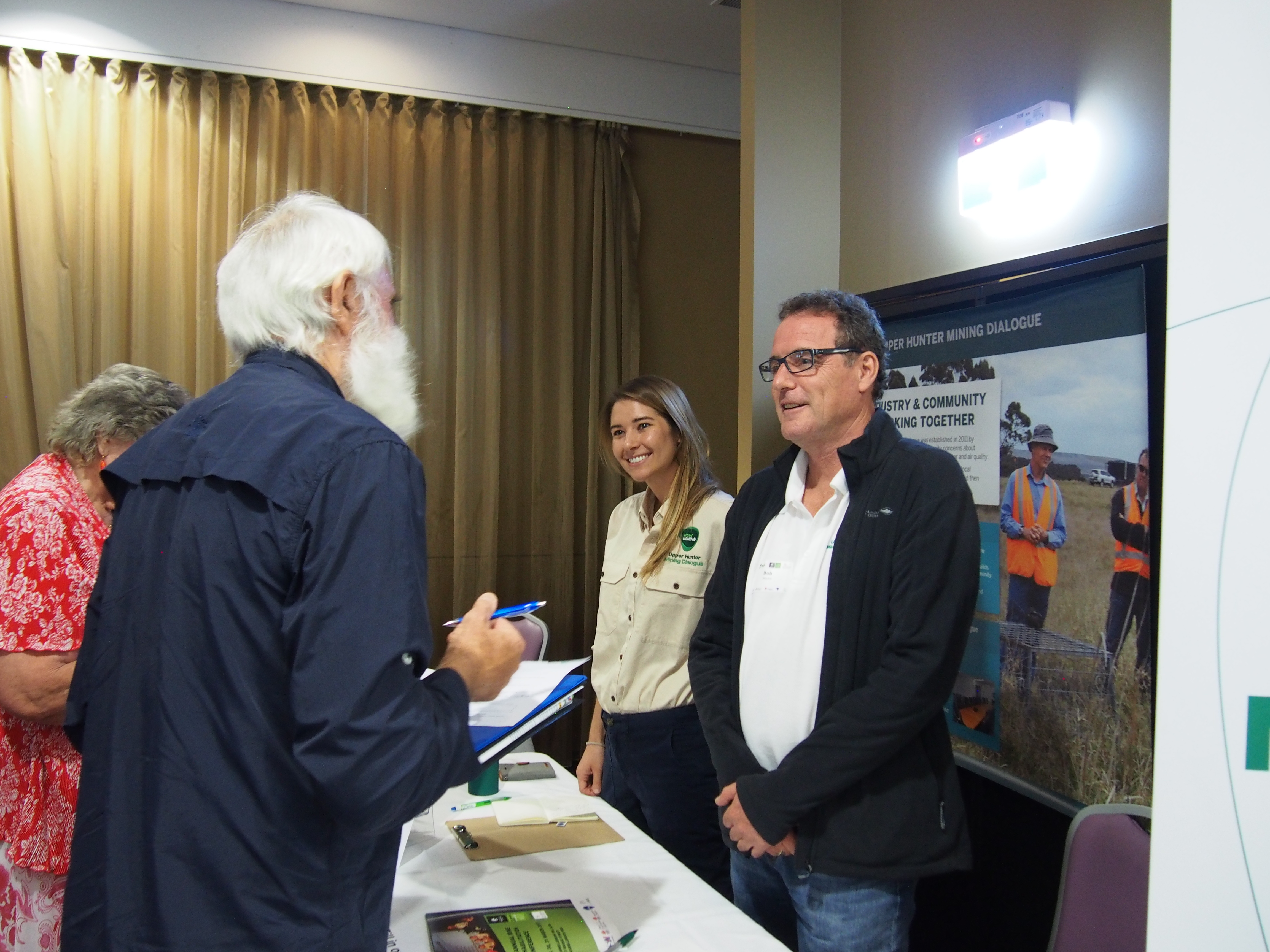 Sponsor NSW Mining, utilised their exhibitor space for Upper Hunter Mining Dialogue